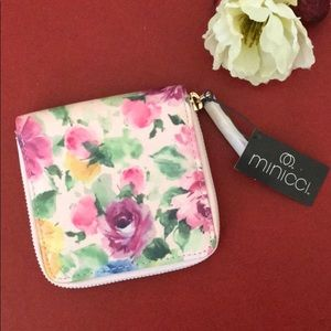 New floral design wallet